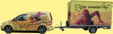 Caddy mit Anhänger cb design