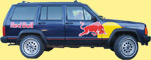 Jeep Red Bull
