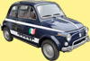 Fiat 500 RAZZIA