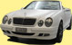 Mercedes Cabrio Folierung weiss