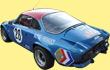 Alpine A110 Rallye Monte Carlo Beschriftung