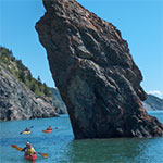 Bay of Fundy Rock Spire