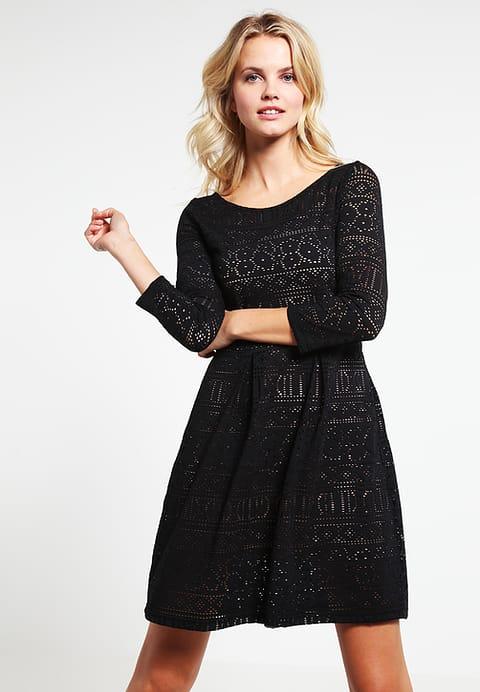 Elegante Vestiti vestito campo anna ponticello delle donne - nero / nudo 9kh6Z1R5 Acquisto Sconti