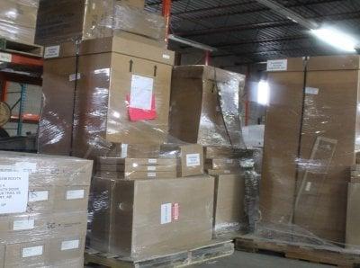 خدمات بسته بندی وسایل خانه