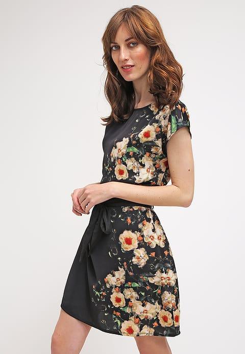 Elegante Vestito estate delle donne vestiti campo anna - nero 6Z46LSeg Più economico