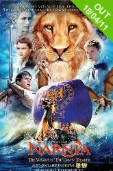 DVD - The Chronicles Of Narnia The Voyage Of The Dawn Treader