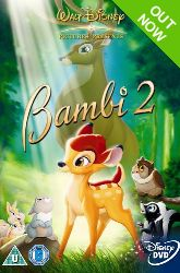 DVD - Bambi 2 The Great Prince of the Forest