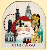Chicago Santa by Shelly