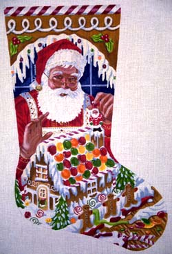 Santa's Gingerbread House by Tapestry Tent