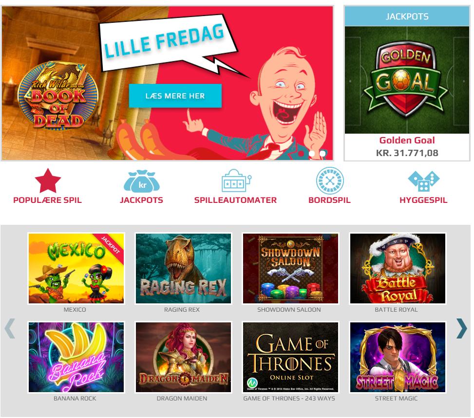 Spildansknu kan blive dit næste ynglings online casino