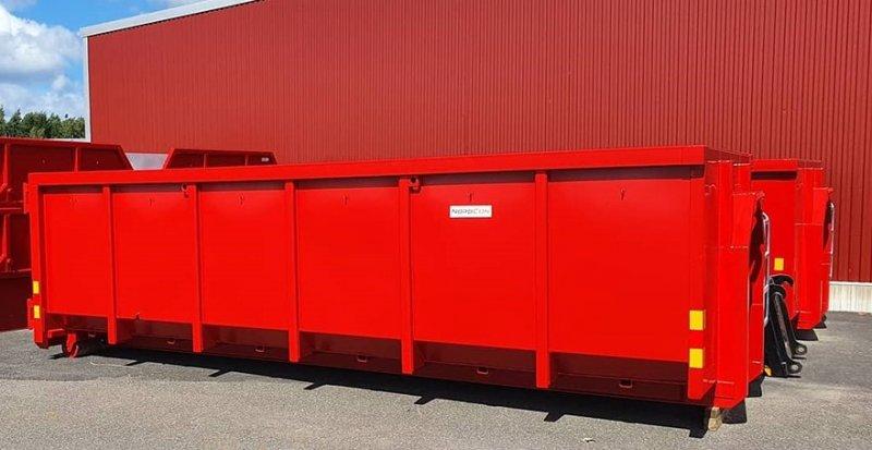 Vi hyr ut container i Skaraborg av typen lastväxlarflak.