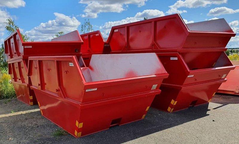 Vi hyr ut container i Skaraborg av typen Liftdumperbehållare.
