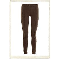Leggings, mörkbruna, Cream