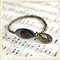 Armband, bred pärlemorpärla