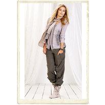 "Byxor från Cream, ""Alina baggy pants"", khaki"