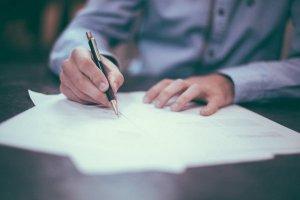 kontrakt, bokföring