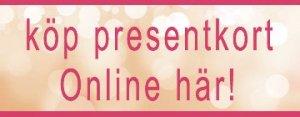 Köp presentkort Online hos Derdeli hudvård