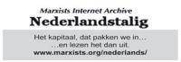 Marxistisch Internet Archief