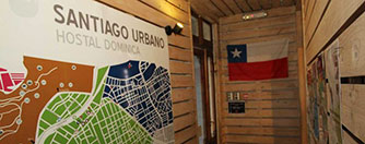 Hostel en Santiago