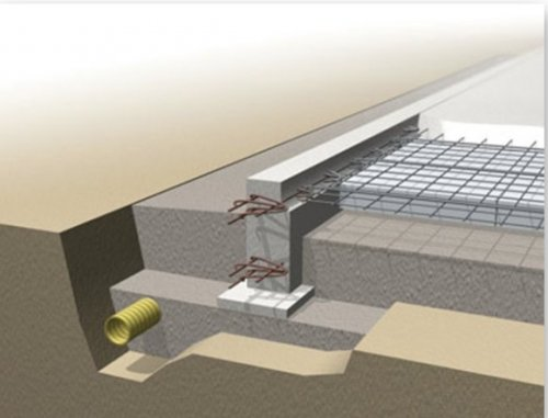 Vi hjälper er bygga stabila husgrunder till ert hem.