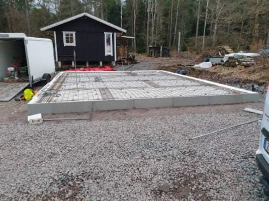 Vi utför anläggning av husgrund och dränering i Alingsås.