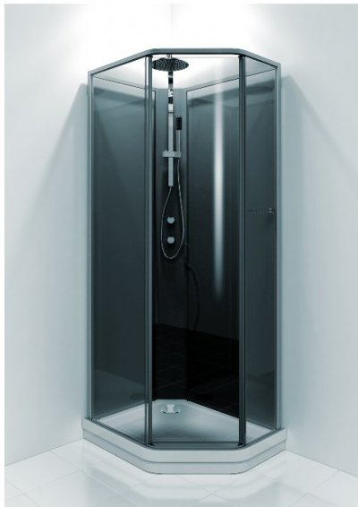 Duschkabin i mått 70x90 cm