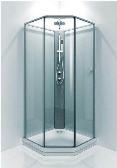 Duschkabin med mått 90x90 cm