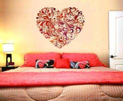 نقاشی ساختمان اتاق خواب