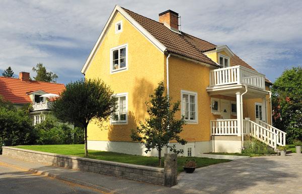 ny el i villa i Stockholm