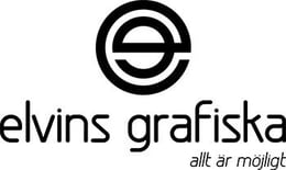 Elvins Grafiska logga