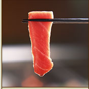 マグロ(まぐろ,鮪)刺身