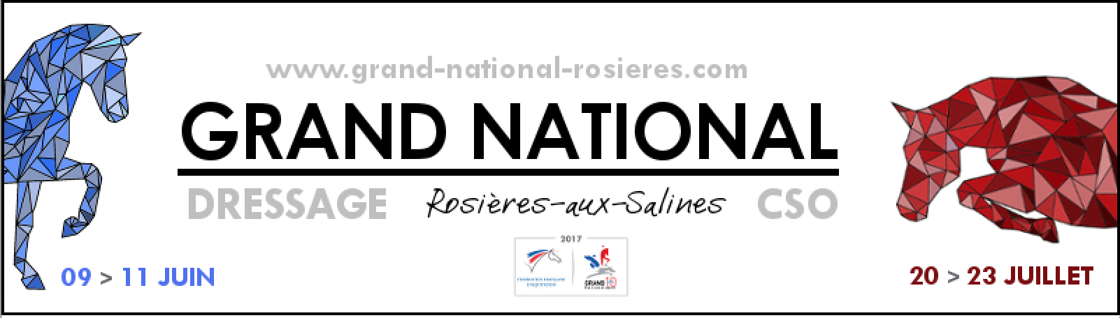 Grand National de Dressage de Rosières-aux-Salines