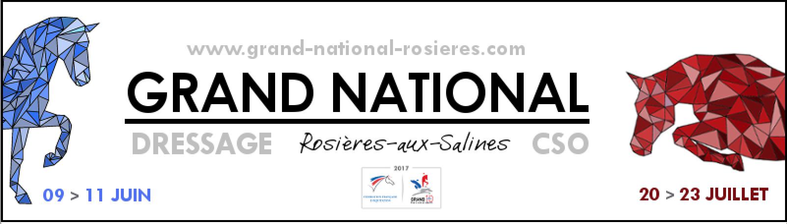 Grand National de Dressage de Rosières-aux-Salines