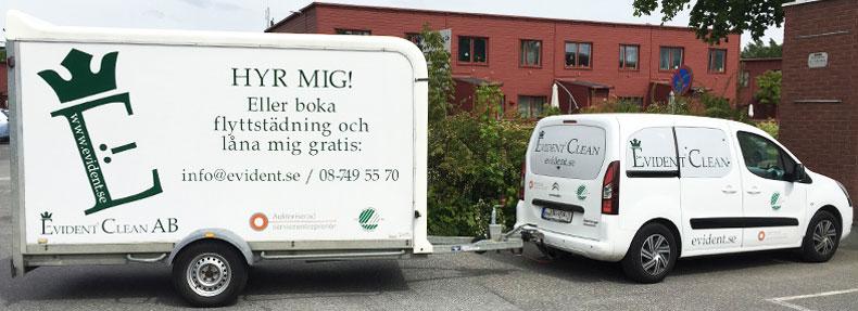 Flyttstädning Stockholm pågår