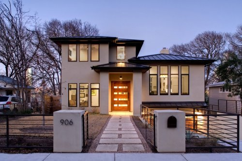 Modernt exklusivt hus