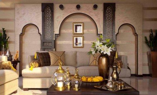 Vardagsrum i Arabisk stil