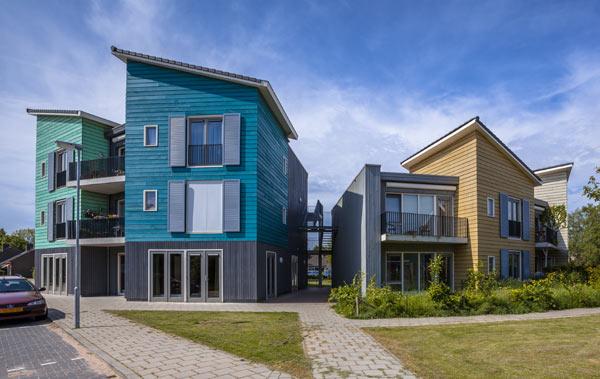moderna fasadmaterial träkomposit