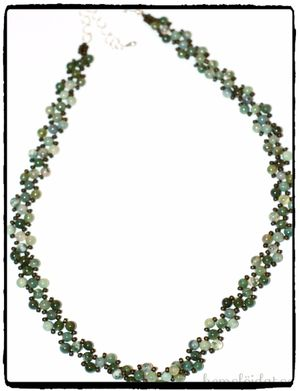 Halsband - ädelstens ARUBA