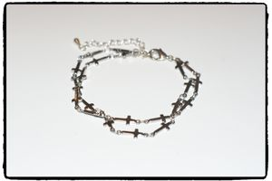 Armband - Small Crosses