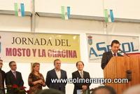 Pedro Fernandez en la XI Fiesta del Mosto y la Chacina de Colmenar