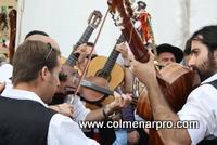 Panda de Verdiales Los Romanes en la XI Fiesta del Mosto y la Chacina de Colmenar