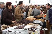 Productos tradicionales en la XI Fiesta del Mosto y la Chacina de Colmenar