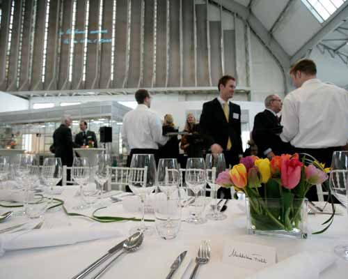 Business Catering in den Deichtorhallen