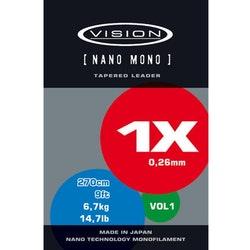 Vision Nano Mono Tapered Leader