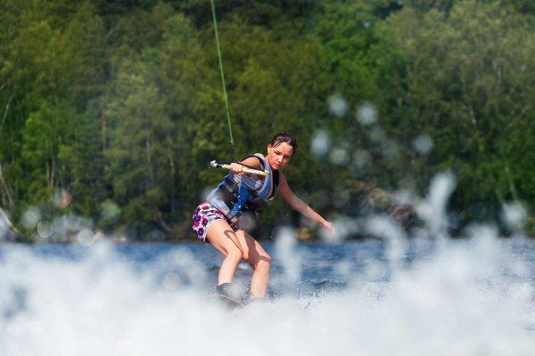 PT expert åker wakeboard