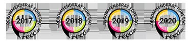 Vi har i många år i rad blivit utsedda till en rekommenderad flyttfirma i Danderyd av sajten Reco.se, Sveriges största oberoende plattform för kundomdömen.
