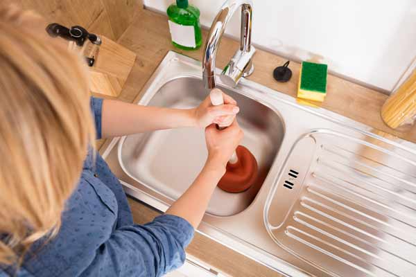 stopp i vasken