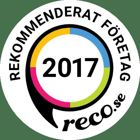 Rekommenderad flyttfirma i Stockholm 2017.