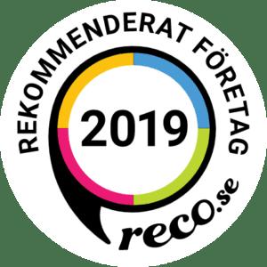 Rekommenderad flyttfirma i Stockholm 2019.