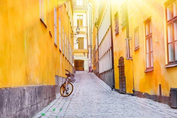 Gränd i Stockholm